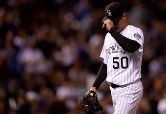 Jamie Moyer's return to the big leagues is a great story, but is his stay nearing an end?