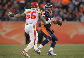 Derrick Johnson was 10th in the NFL with 131 tackles in 2012.