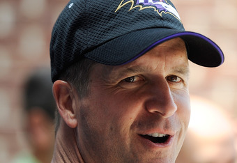 Ravens head coach John Harbaugh also has to find creative ways to deal with the number of changes that have befallen the Ravens.