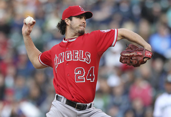Before his recent shutout of the Mariners, Dan Haren had a 4.37 ERA in nine starts.