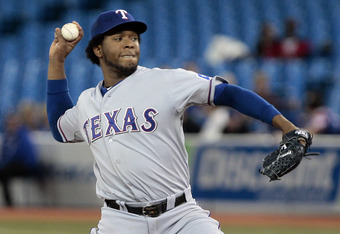 Neftali Feliz will probably pitch out of the bullpen when he returns.
