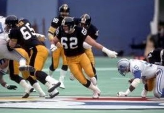 Tunch Ilkin was a great offensive tackle for Pittsburgh in the 1980's. Photo/eBay.com