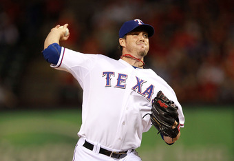 ARLINGTON, TX - APRIL 24:  Joe Nathan #36 of the Texas Rangers at Rangers Ballpark in Arlington on April 24, 2012 in Arlington, Texas.  (Photo by Ronald Martinez/Getty Images)