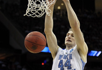 Tyler Zeller is the NBA draft's second-best center prospect.