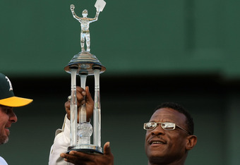 Rickey Henderson. Most steals... and most caught stealing. Quite a trophy.
