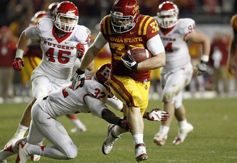 Iowa state tailback Jeff Woody