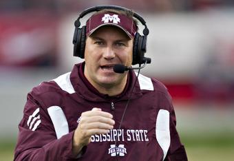 Mississippi State head coach Dan Mullen