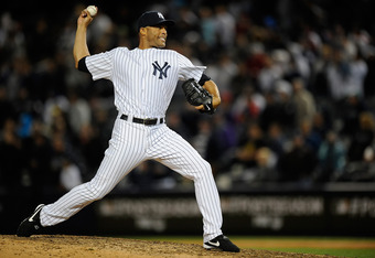 Mariano Rivera, the gold standard in closing games.