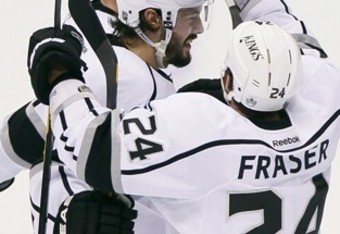 Colin Fraser was definitely not who many expected to score the opening goal of the series