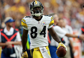 Wallace's presence on the field helped fellow Steelers receiver Antonio Brown have a monster 2011 season.