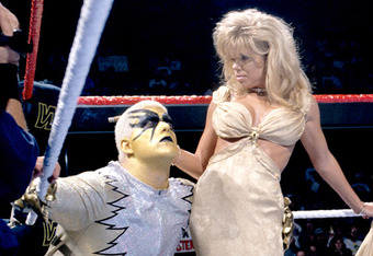 "This event marked the debut of ""Marlena."" (Image courtesy of WWE.com)"