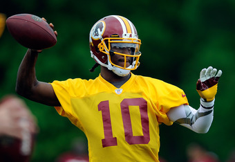 Robert Griffin III has natural ability outside the pocket, which expands the play-calling options for Kyle Shanahan.