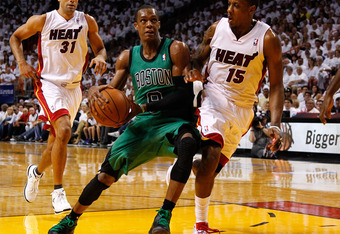 Battier and Chalmers have quietly stepped up for Miami.