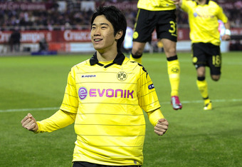 Dortmund's Shinji Kagawa is set to join United in the coming weeks to provide more options in attack. Yet he is not the answer to the problems in United's midfield.
