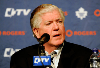 Brian Burke is one of many General Managers feeling the heat from fans to spend this off-season. Will he take advantage of the temporary cap increase?
