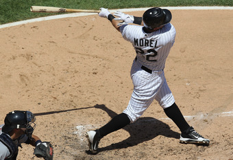 Brent Morel is hitting .417 in his rehab stint in Charlotte.