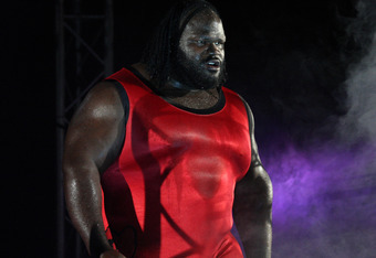 """Is he really the World's Strongest Man still or is that just some title he won't relinquish?"" Adam Carriker jokingly pondered about Mark Henry."