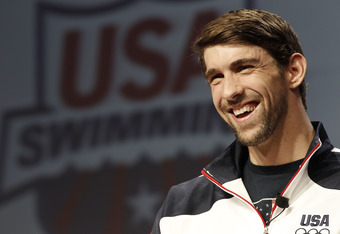 16-time Olympic medalist Michael Phelps