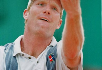 Jim Courier 1991 & '92 French Open Champion