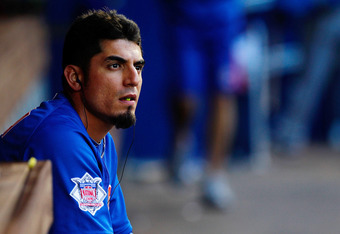 Cubs starter Matt Garza could find himself in pinstripes by the end of the year.