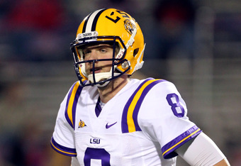 LSU quarterback Zach Mettenberger