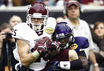 Texas A&M wide receiver Ryan Swope