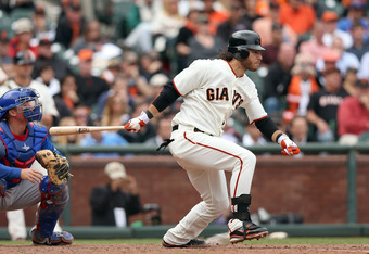 Brandon Crawford played a key role in Monday's victory.