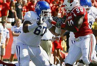 Kentucky offensive guard Larry Warford / Photo Credit: SIKids.com