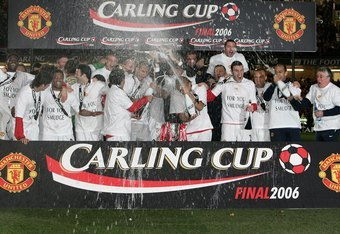 Manchester United won the 2006 Carling Cup.