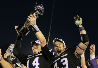 TCU won the 2011 Rose Bowl and went undefeated, but had no chance to play for a championship.