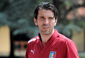 Gianluigi Buffon's ill-advised comments to the press have not helped matters.