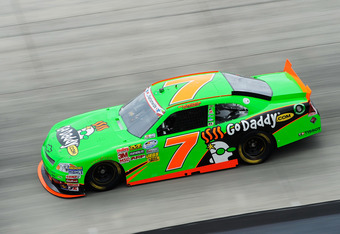 DOVER, DE - JUNE 01:  Danica Patrick, driver of the #7 GoDaddy.com Chevrolet, practices for the NASCAR Nationwide Series 5-hour Energy 200 at Dover International Speedway on June 1, 2012 in Dover, Delaware.  (Photo by Patrick McDermott/Getty Images for NA