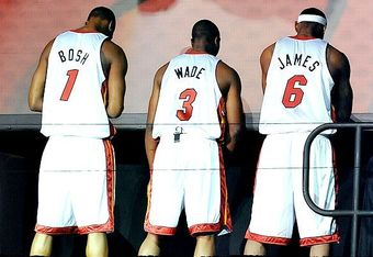 """""""The Big Three"""" has yet to do anything big to this point."""