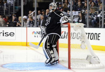 Goaltender Jonathan Quick has played a huge part in the Kings' playoff success.