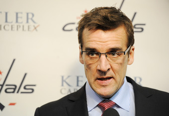 George McPhee has a very difficult decision to make