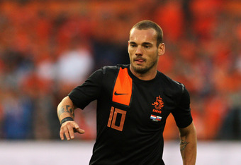 Wesley Sneijder will pull the strings for the Netherland's at this year's Euros.