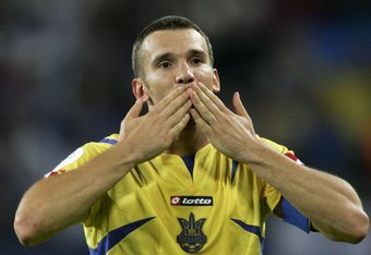 Shevchenko of Ukraine