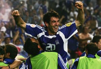 Giorgos Karagounis was a key member of Greece's Euro 2004 squad.