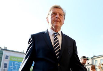 KRAKOW, POLAND - JUNE 07:  England manager Roy Hodgson on his way to an England Gala Welcome Reception at 19th Century Polish Art Gallery ahead of EURO 2012 on June 7, 2012 in Krakow, Poland.  (Photo by Scott Heavey/Getty Images)