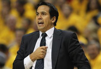 Miami coach Erik Spoelstra