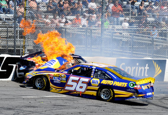 Brake failure at 212 mph could yield a much worse result than it did for Martin Truex Jr. at Martinsville last year