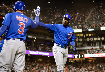 The Cubs don't have to play Alfonso Soriano in left field when they play in AL ballparks.