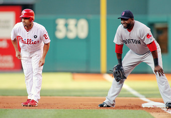 Interleague play forces the Red Sox to play Big Papi at first base.