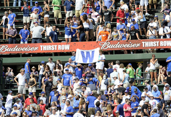 Cubs-White Sox games always draw a crowd.