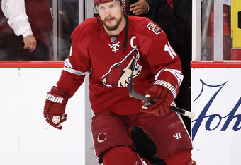 Shane Doan would like to remain a Coyote but will also consider free agency after July 1.