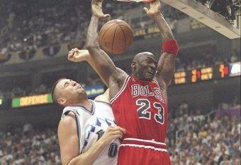Michael Jordan forcing his will again
