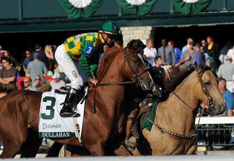 With I'll Have Another out, Dullahan is the Belmont's new favorite.  (Eclipse Sportswire)