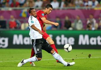 Jerome Boateng's game-saving tackle on Ronaldo in the 64th minute.