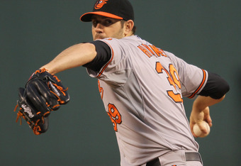 Jason Hammel currently leads the Orioles in wins and ERA