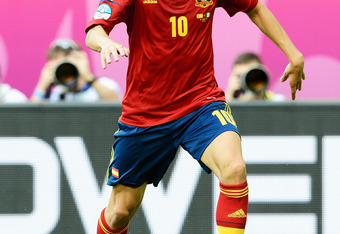 Spain's Cesc fabregas countered in the 64th minute against Italy.